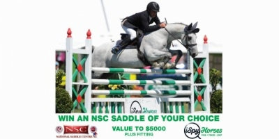 WIN AN NSC SADDLE VALUE $5000 OF YOUR CHOICE PLUS FITTING