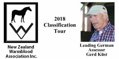 NZWA 2018 CLASSIFICATION TOUR