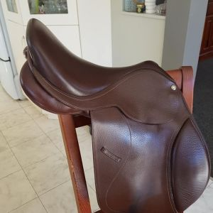"Jump Saddle 16"" excellent condition"