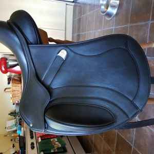 Bates Innova Dressage Saddle with Luxe Leather