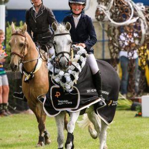 Outstanding kids pony